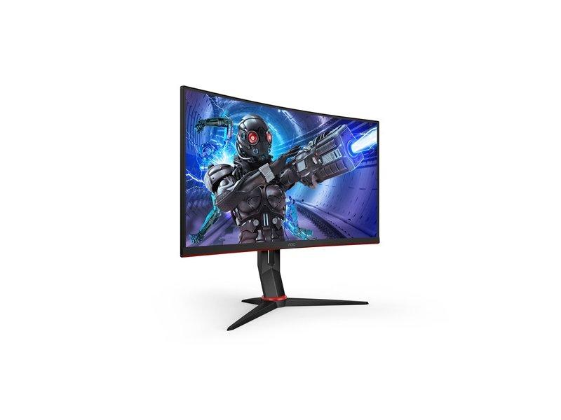 """AOC 27"""" FullHD ívelt VA gaming monitor (C27G2ZU/BK)"""