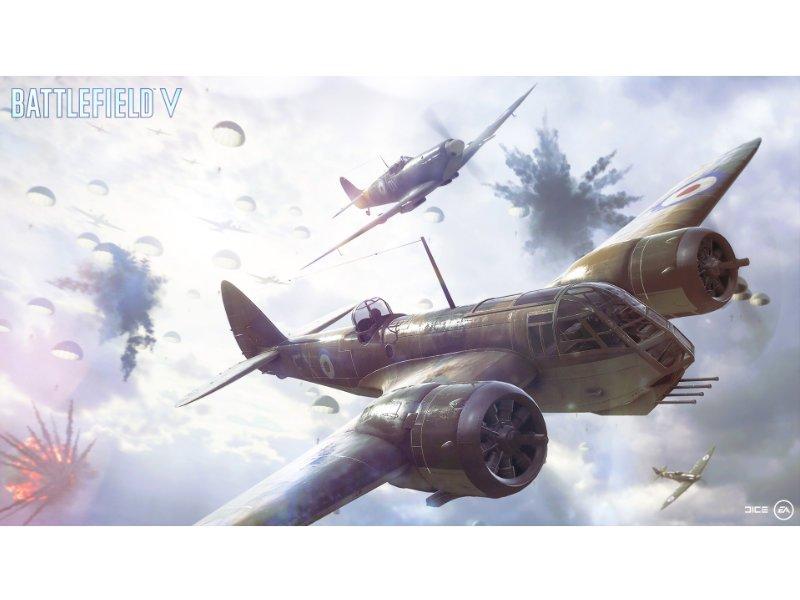 Xbox One X 1TB Konzol Battlefield 5 (V) Gold Rush Special Edition csomag