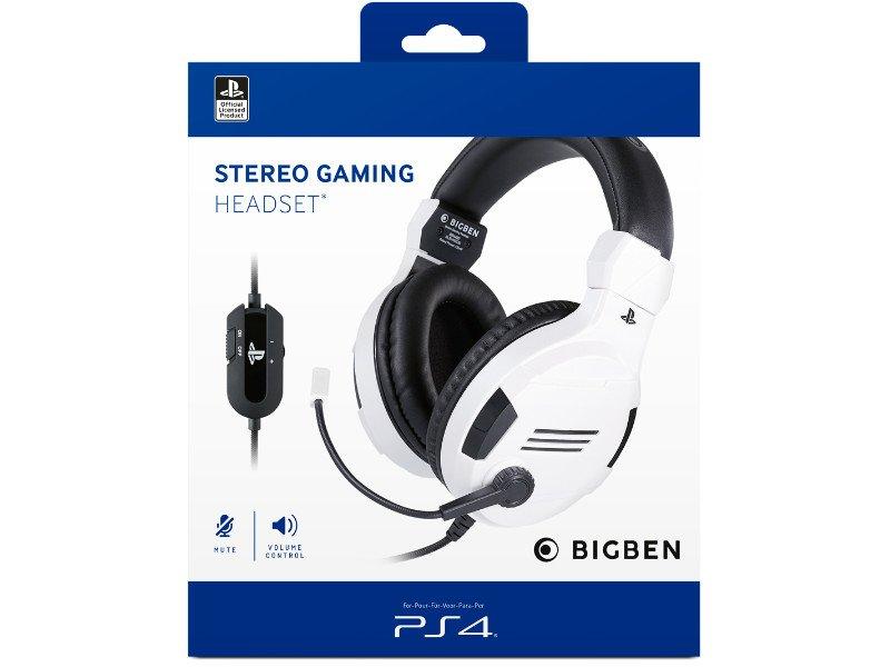 Bigben PS4 Stereo Gaming Headset V3 Fehér