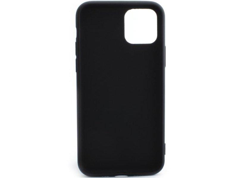 Apple iPhone 11 Vékony TPU Szilikon hátlap (TPU-IPH11-BK) Fekete
