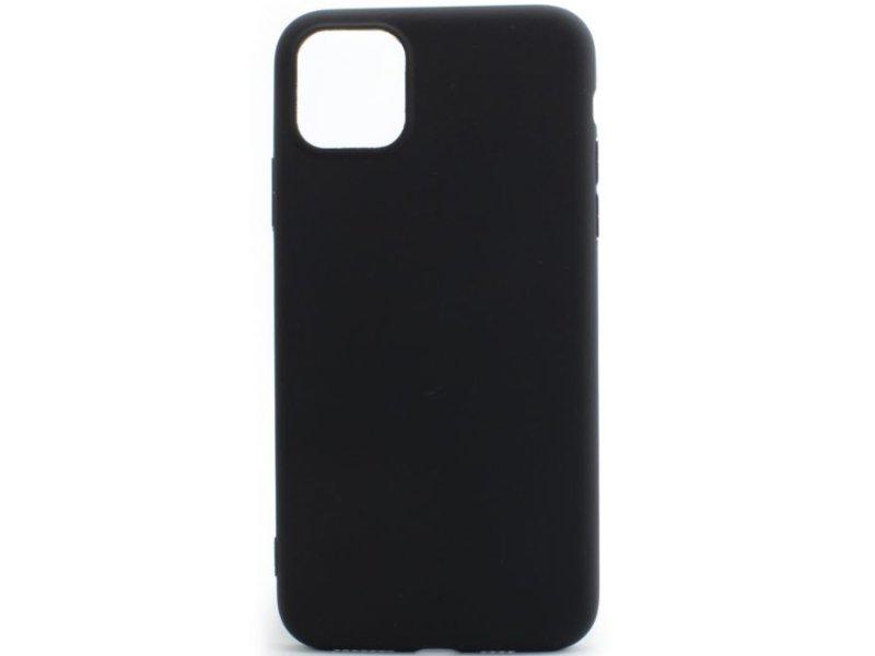 Apple iPhone 11 Pro Max Vékony TPU Szilikon hátlap (TPU-IPH11-PROMAX-BK) Fekete