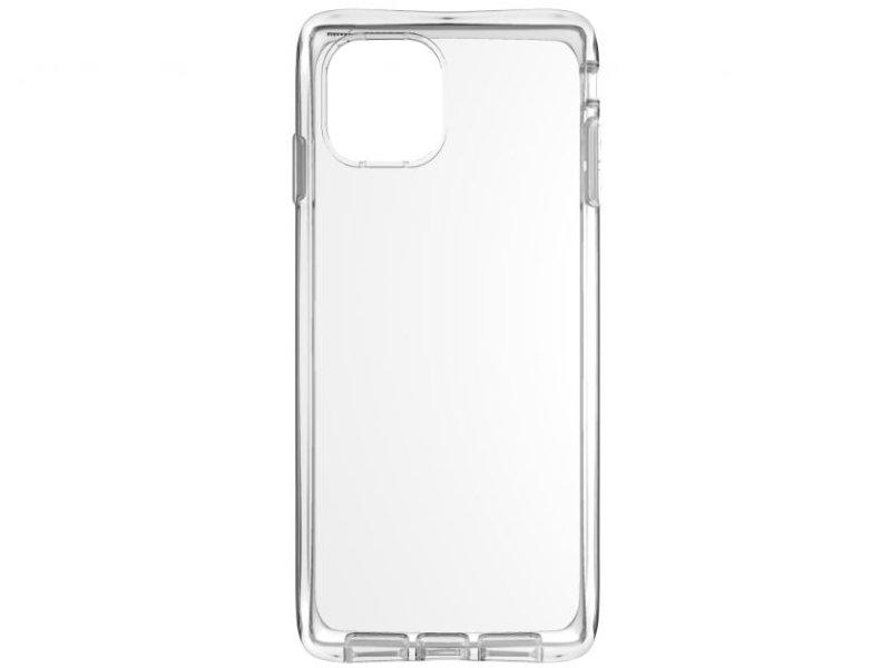 Apple iPhone 11 Vékony TPU Szilikon hátlap (TPU-IPH11-TP) Átlátszó