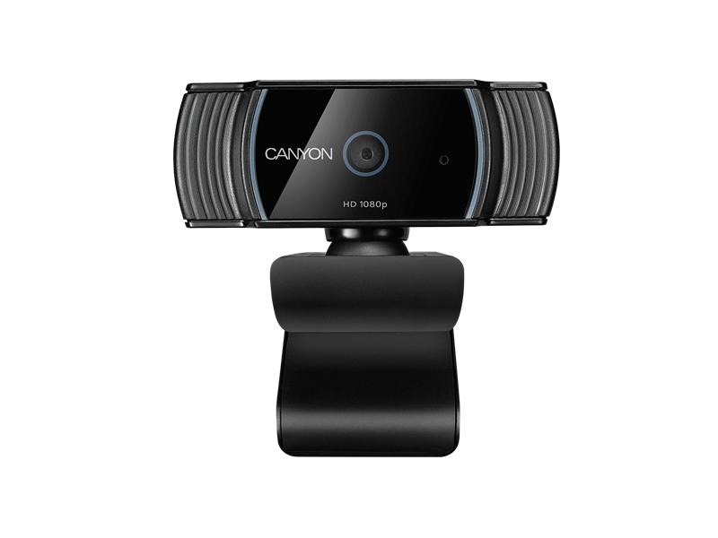 CANYON C5 Full HD live streaming webkamera (CNE-CWC5) fekete-ezüst