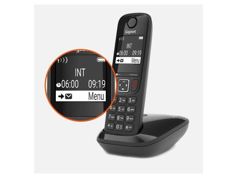 Gigaset ECO DECT AS690 Vezeték Nélküli Telefon (S30852-H2816-S201)