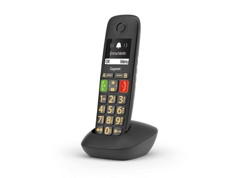 Gigaset ECO DECT E290HX Vezeték Nélküli Telefon Bázisállomás Nélkül (S30852-H2961-R101)