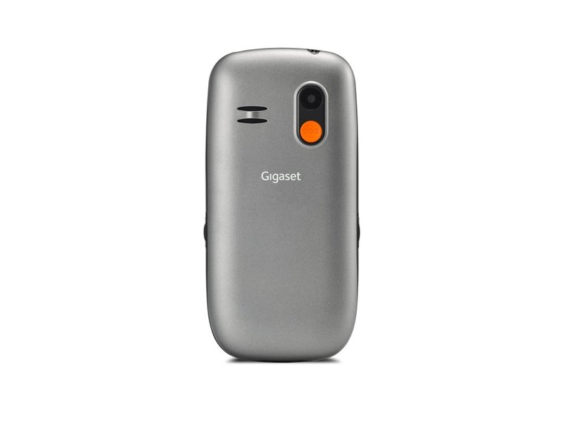 GIGASET GL390 mobiltelefon idősek számára, Dual-SIM (S30853-H1177-R601) titán-ezüst