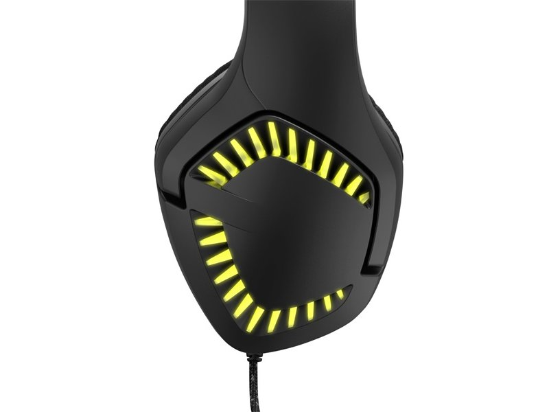 "HAMA uRage ""SOUNDZ 700"" 7.1 gaming mikrofonos fejhallgató (186001) fekete"