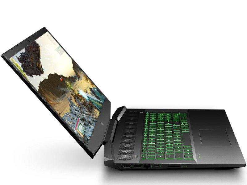 HP Pavilion Gaming 15-DK0008NH (8NF79EA) Fekete