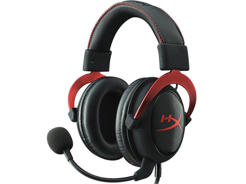 KINGSTON HyperX Cloud II Pro Gaming Headset Fekete-vörös (KHX-HSCP-RD)