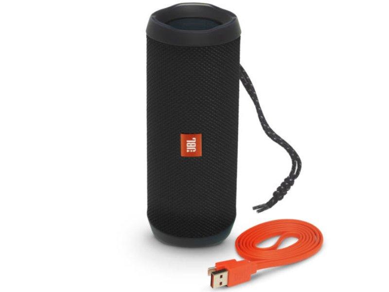 JBL Flip 4 Vízálló Bluetooth Hangszóró Fekete