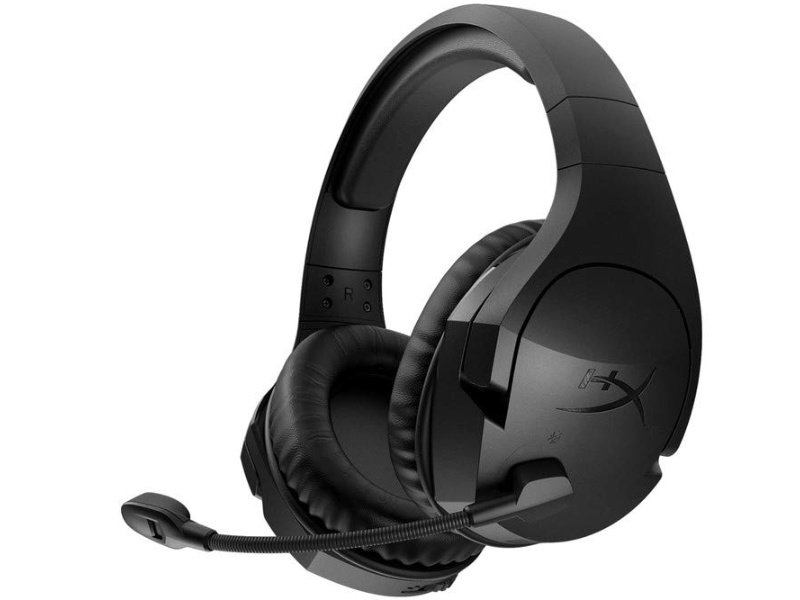 KINGSTON HyperX Cloud Stinger Vezeték Nélküli Gaming Headset PC, PS4 (HX-HSCSW2-BK/WW)
