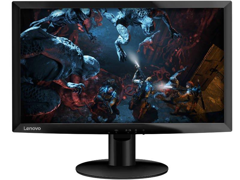 "Lenovo 23,6"" D24F-10 Gamer Monitor (65EBGAC1EU) Fekete"