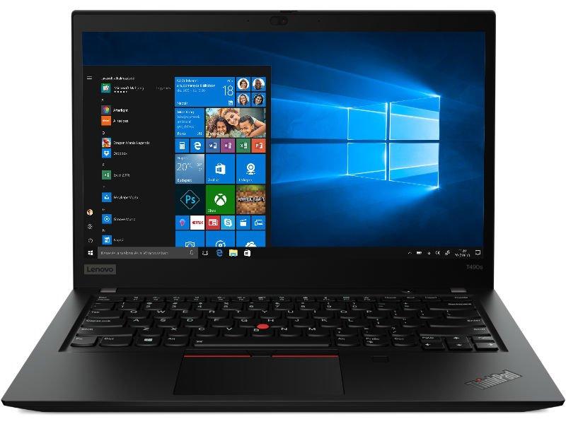 LENOVO ThinkPad T490s (20NX003BHV) Fekete
