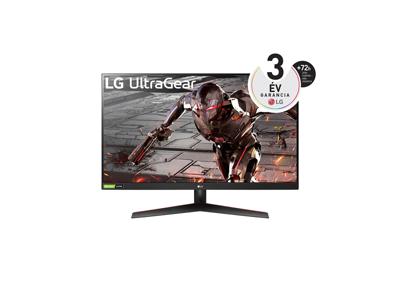 "LG UltraGear 31.5"" FullHD VA gaming monitor (32GN500-B.AEU) fekete"