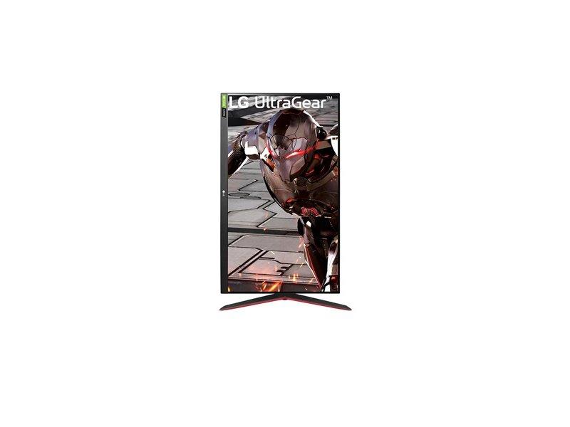 "LG UltraGear 31.5"" FullHD VA 165Hz Gamer monitor (32GN550-B) fekete"