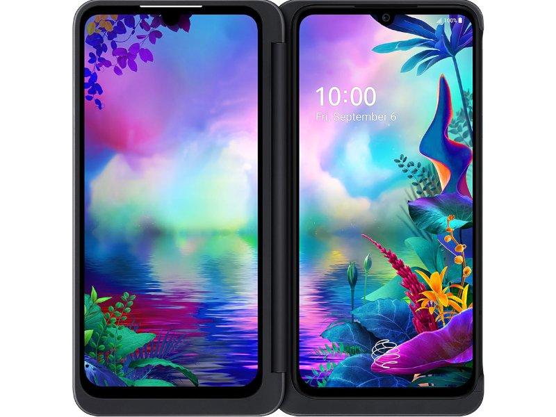 LG G8X ThinQ DualSIM 128GB (LMG850EMW.AHUNBK) Fekete