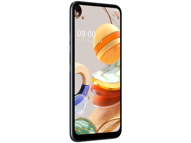 LG K61 Dual-Sim 128GB (LM-Q630EAW.AHUNTN) Titanium