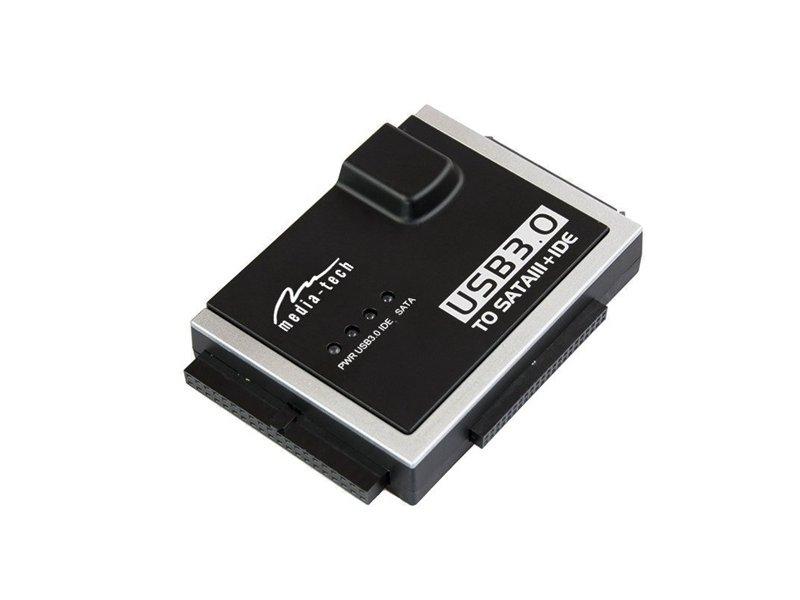 Media-Tech USB 3.0 to SATA/IDE Átalakító