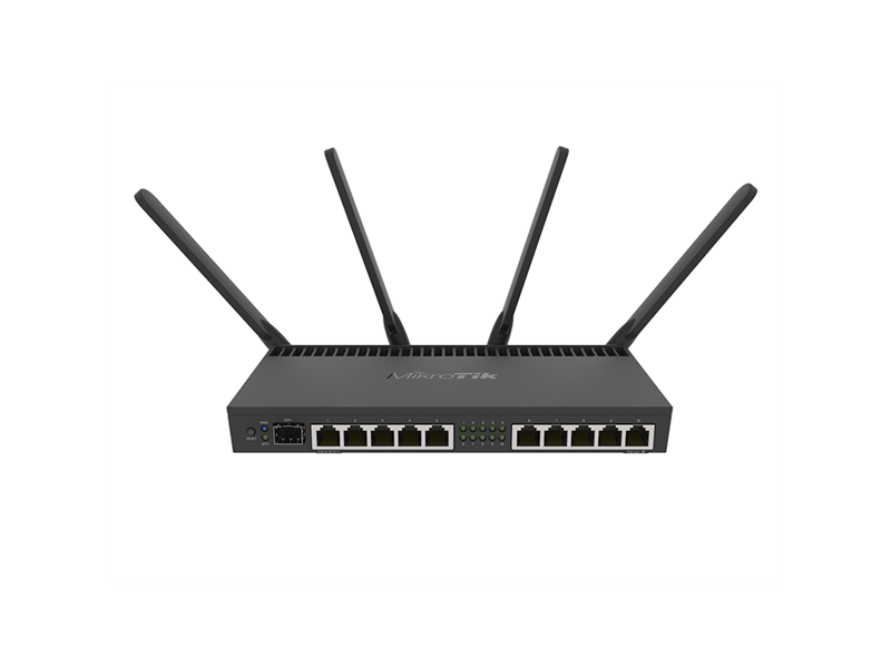 MIKROTIK RB4011 series router (RB4011IGS+5HACQ2HND-IN)
