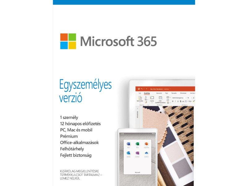 Microsoft 365 Egyszemélyes verzió (QQ2-00995)