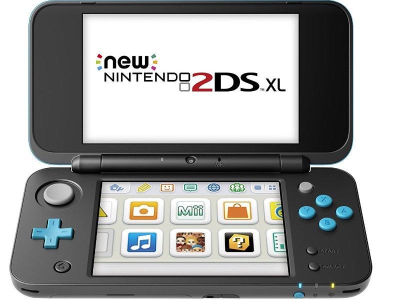 Nintendo New 2DS XL Konzol (Fekete/Türkiz)