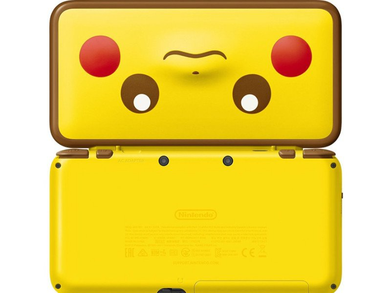 Nintendo New 2DS XL Konzol Pikachu Edition