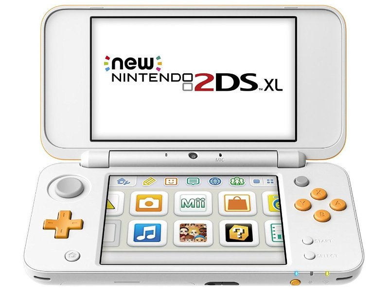 NINTENDO 2DS konzol NEW XL White & Orange