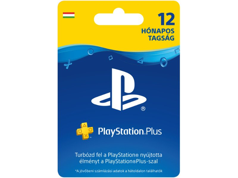 Sony PlayStation Plus 12 Month Membership