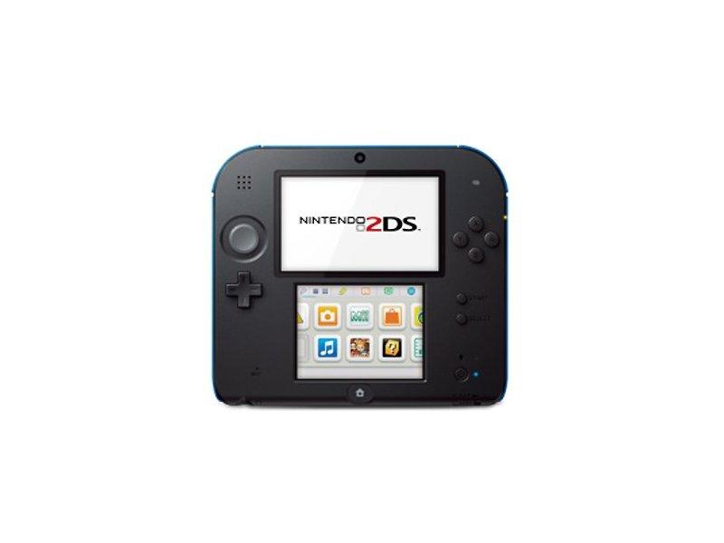 Nintendo 2DS Konzol (Fekete/Kék) + Mario Kart 7