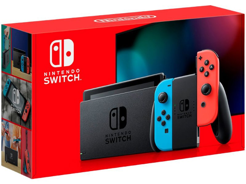 Nintendo Switch Konzol (Piros/Kék)