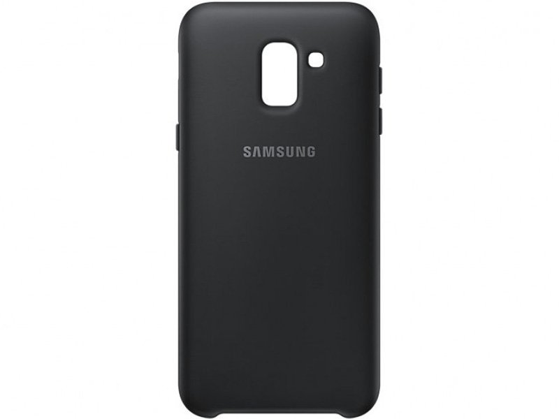 Samsung Galaxy J6 protective tok Fekete