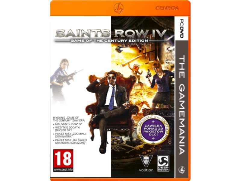 Saints Row IV: Game of the Century Edition PC (TGM)