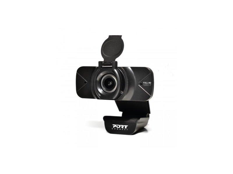 Port Designs Full HD Webkamera (900078) Fekete