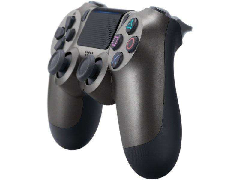 PlayStation 4 (PS4) DualShock 4 V2 Kontroller (Steel Black)