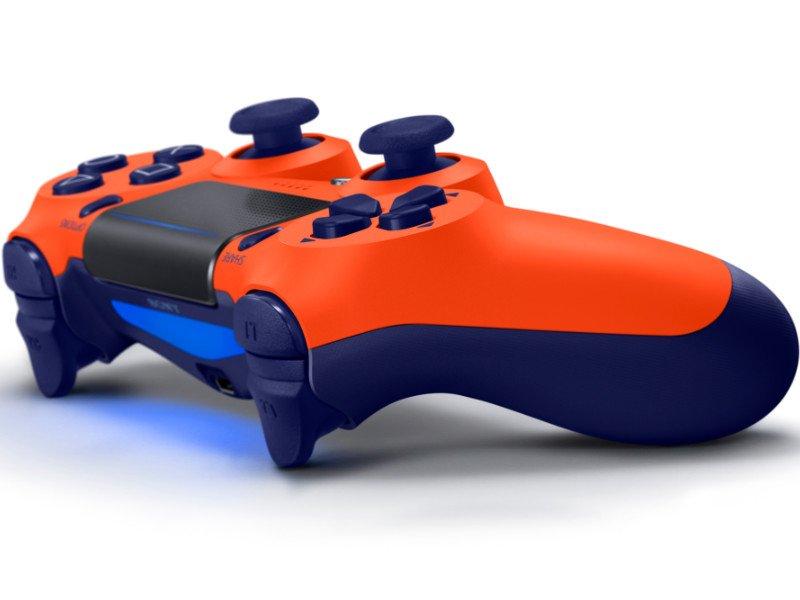 PlayStation 4 (PS4) DualShock 4 V2 Kontroller (Sunset Orange)