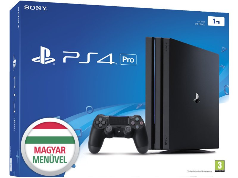 Sony PlayStation 4 Pro 1 TB Konzol (PS719887256)