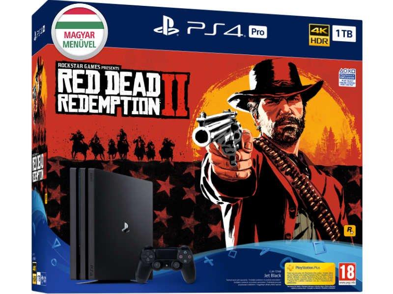 PS4 Pro 1TB Konzol + Red Dead Redemption 2 (II)
