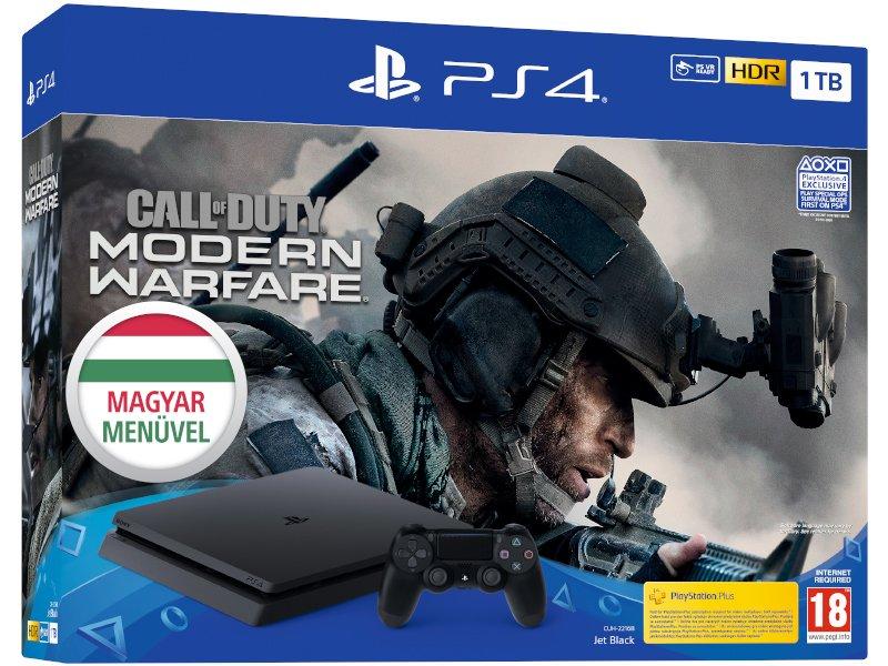 PS4 Slim 1 TB Konzol Call of Duty: Modern Warfare