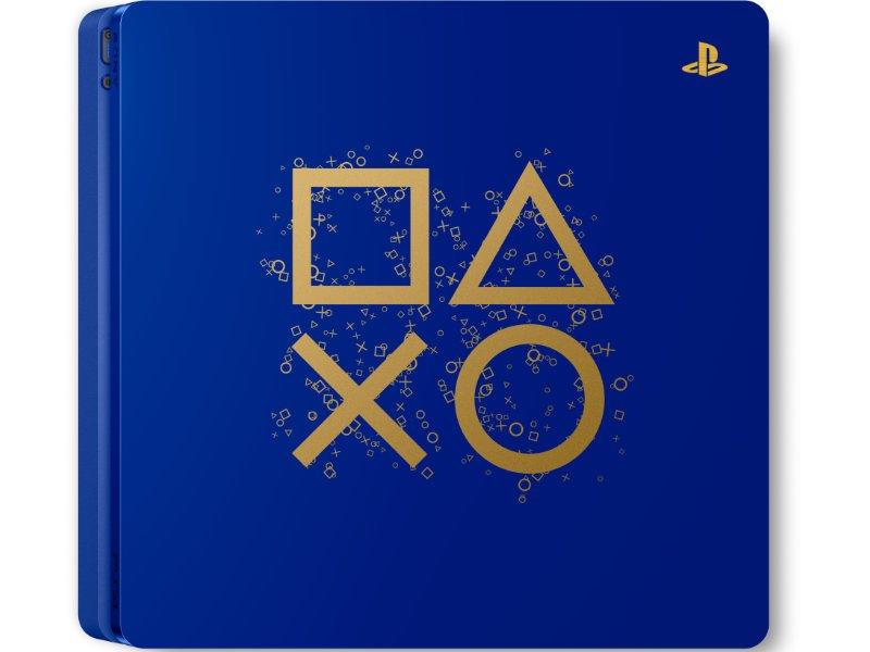 PS4 Slim 500 GB Konzol Days of Play Limited Edition két kontrollerrel