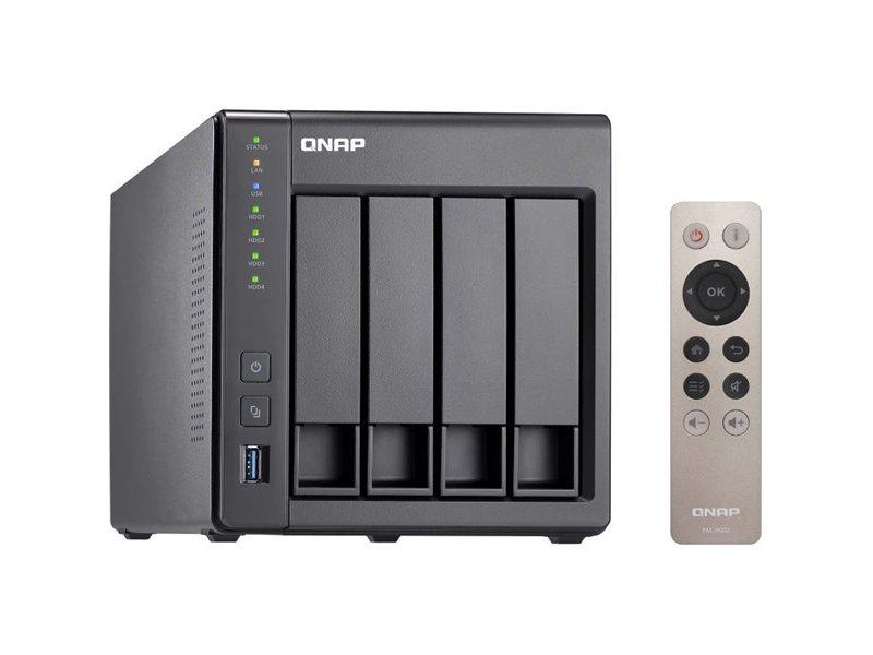 QNAP TS-451+-2G 4 fiókos NAS