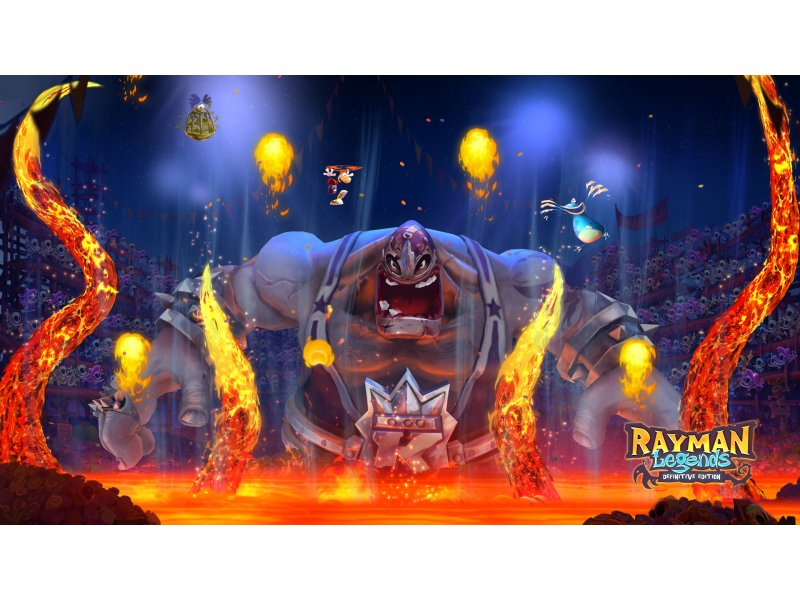 Rayman Legends Definitve Edition Nintendo Switch