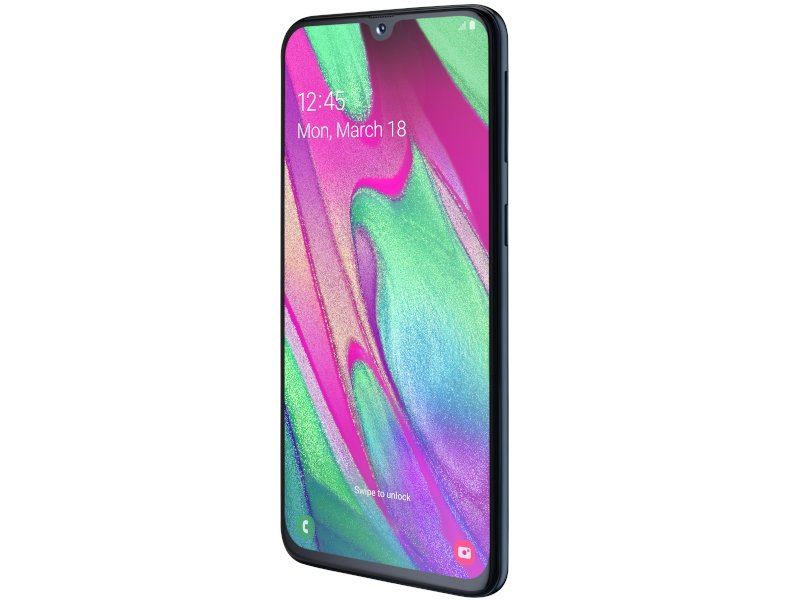Samsung Galaxy A40 DualSIM (SM-A405FZKDXEH) Fekete