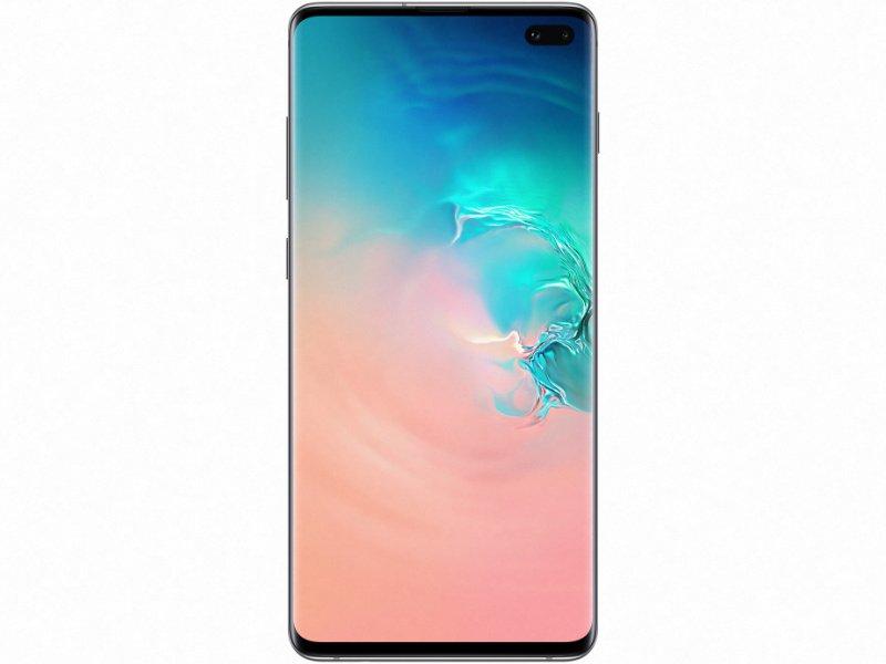 Samsung Galaxy S10+ Dual-Sim 128GB (SM-G975FZWD) prizma fehér
