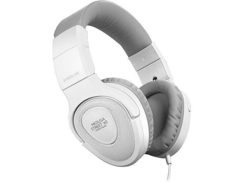 Speedlink (SL-870000-WEGY) MEDUSA STREET XE Mikrofonos Fejhallgató Fehér-szürke