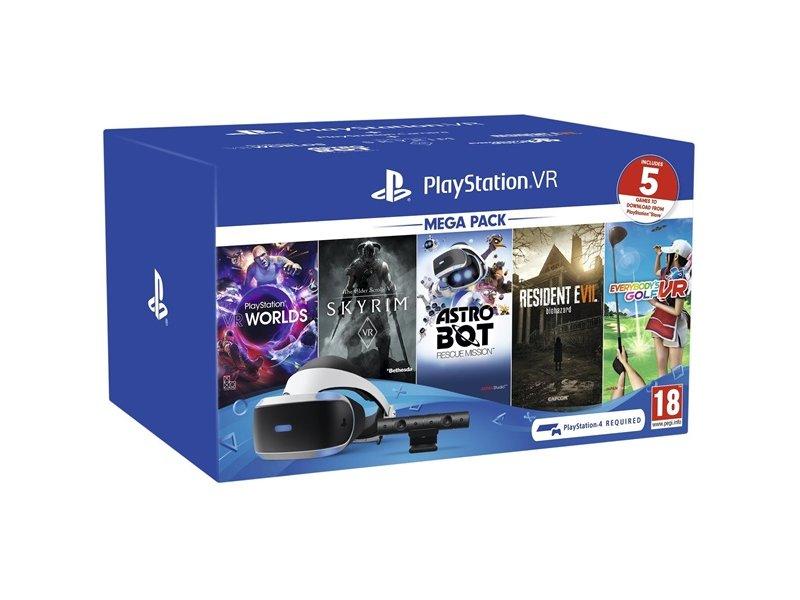 Sony PlayStation 4 VR V2 Mega Pack 2 (2806394)