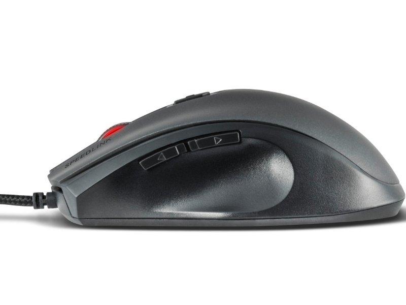 Speedlink (SL-680007-BK) ASSERO Gaming Vezetékes Egér Fekete