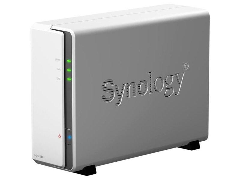 SYNOLOGY DiskStation DS120J 1 fiókos NAS tároló szerver