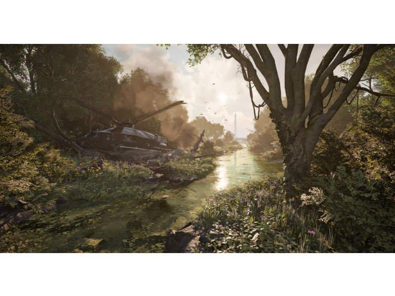 Xbox One S 1TB Konzol Tom Clancy's The Division 2 csomag + Fehér kontroller