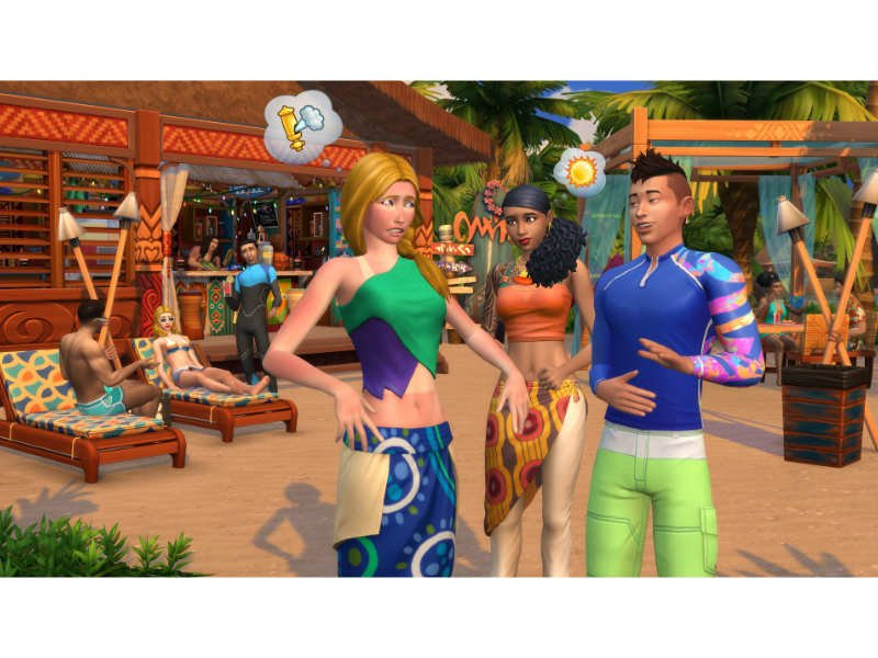 The Sims 4 Island Living PC/MAC