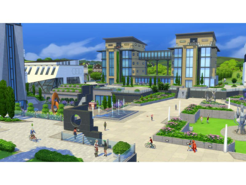 The Sims 4 Plus Discover University Bundle PC/MAC